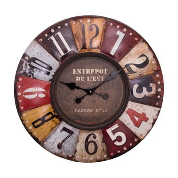 Ceas de perete Antic Line Pendule Multicolore ⌀ 70 cm