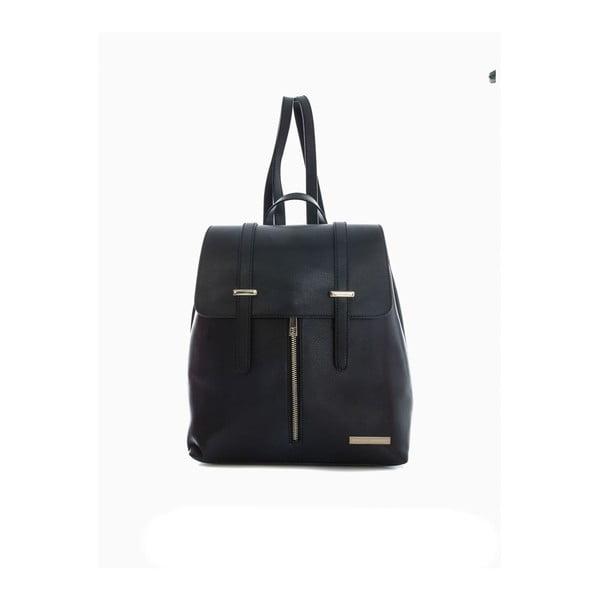 Czarny plecak skórzany Sofia Cardoni Tefe