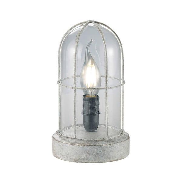 Stolní lampa Birte, šedá