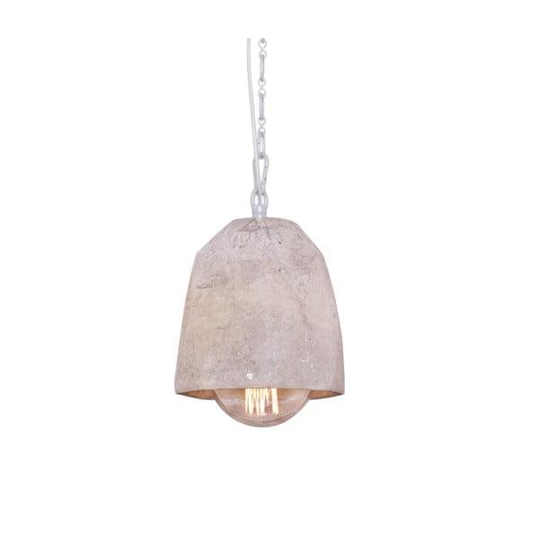 Závěsné svítidlo s mramorovým stínítkem Fesh, 15 cm