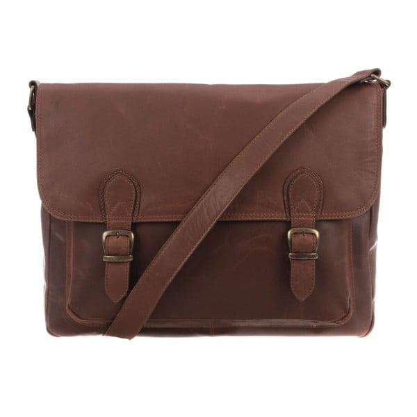 Kožená taška Baker Natural Brown