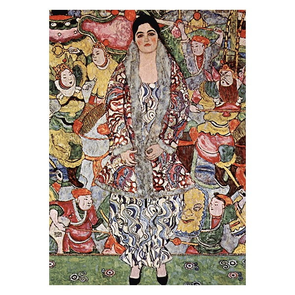 Obraz Gustav Klimt Friederike - Maria Beer, 40x30 cm