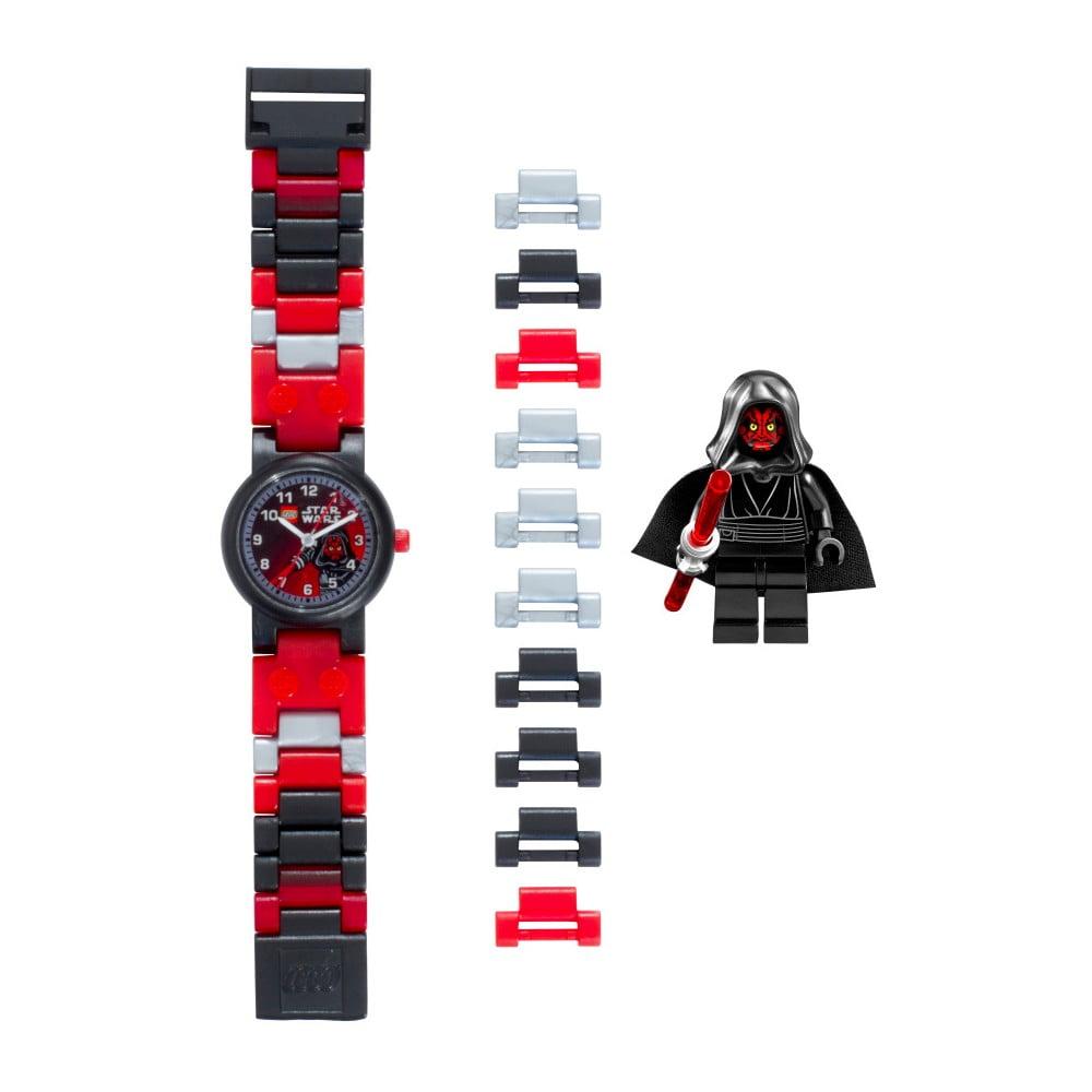 Hodinky s figurkami LEGO® Star Wars Darth Maul