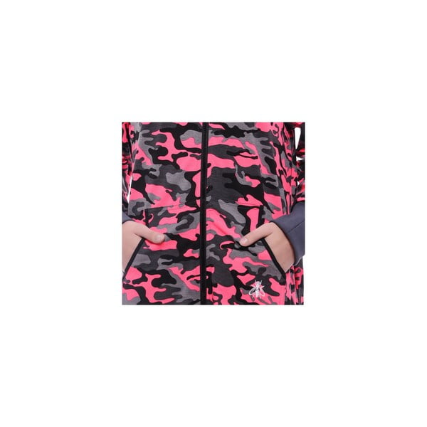 Unisex domácí overal Streetfly Thin Pink Army, vel. S