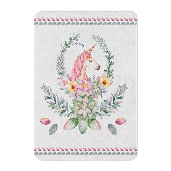Detský koberec OYO Kids Elegant Unicorn, 80 x 140 cm