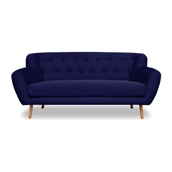 Sada 2 modrých pohovek pro dva a pro tři Cosmopolitan design London
