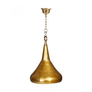 Závěsné svítidlo ve zlaté barvě Denzzo Hanif