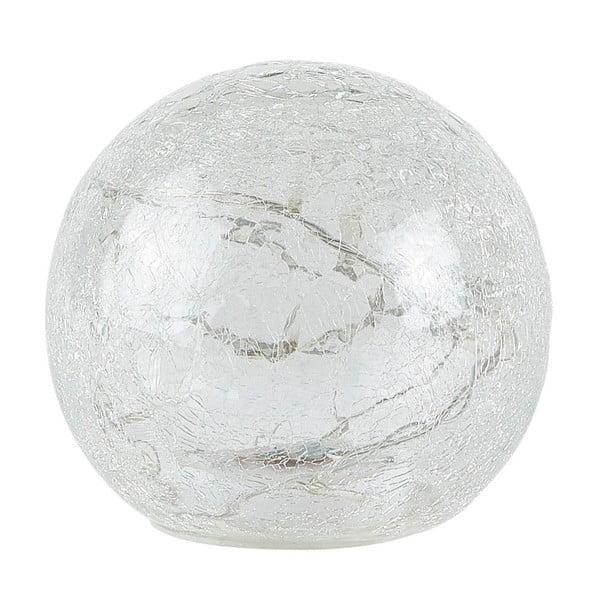 Dekorační koule s LED světlem Villa Collection, výška 13,5 cm