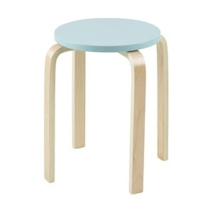 Odkládací stolek Emba, světle modrý