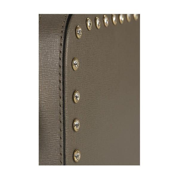 Kožená kabelka Giorgio Costa 15010 Taupe