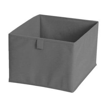Cutie pentru depozitare din material textil JOCCA, 28x28cm, gri imagine