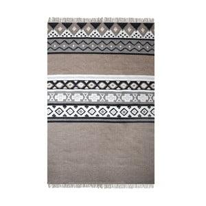 Ručně vyráběný koberec The Rug Republic Dennish Natural, 120 x 180 cm