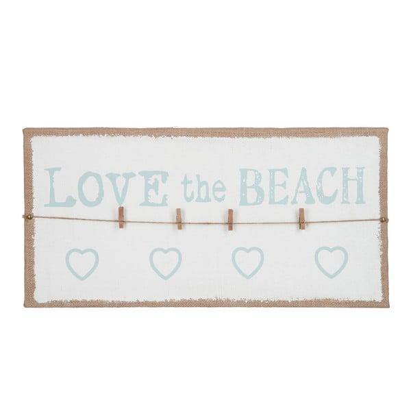Nástěnka na vzkazy Love Beach, 60x30 cm