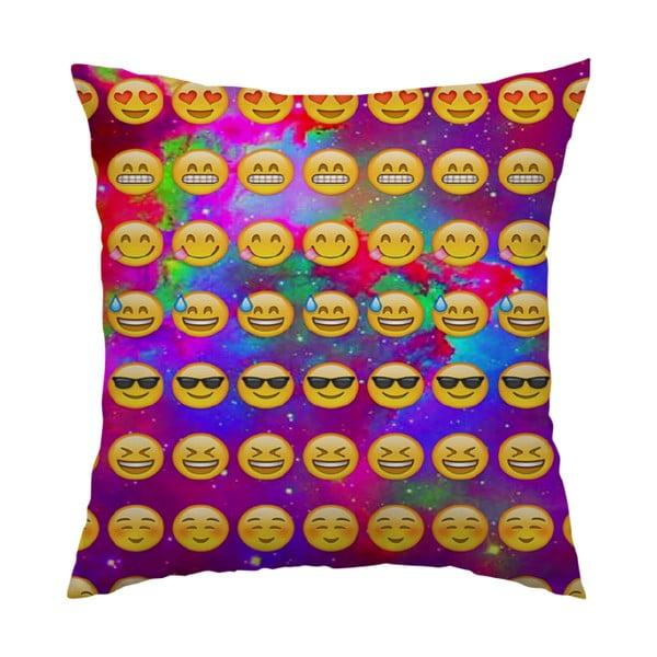 Polštář Emojis, 40x40 cm