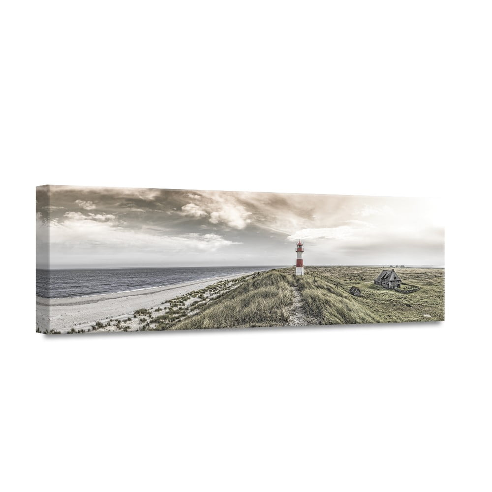 Obraz Styler Canvas By The Sea Beacon View 45 x 140 cm