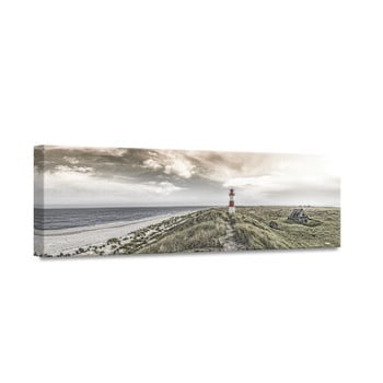Tablou Styler Canvas By The Sea Beacon View, 45 x 140 cm imagine