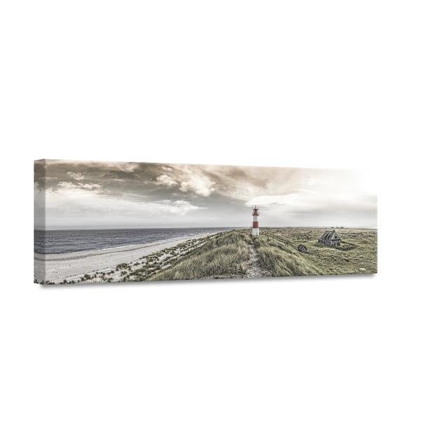 Canvas By The Sea Beacon View fali kép, 45 x 140 cm - Styler