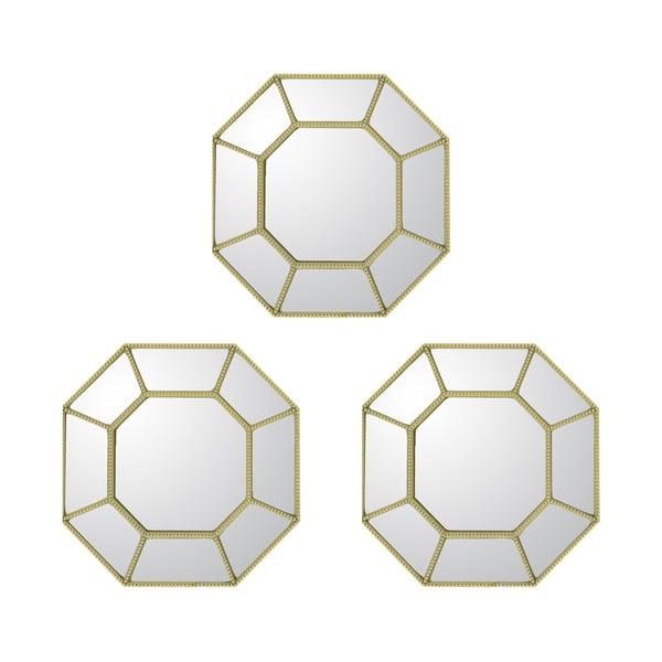 Set 3 zrcadel Goldies
