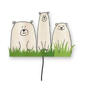 Dekorativní nástěnná lampa Little Nice Things Bears