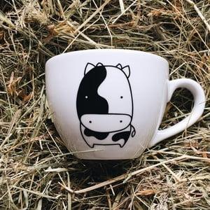 Hrnek FOR.REST Design Cow, 500ml