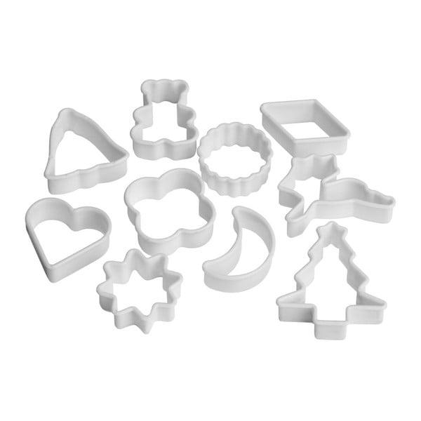Set 10 forme pentru tăiat fursecuri Premier Housewares