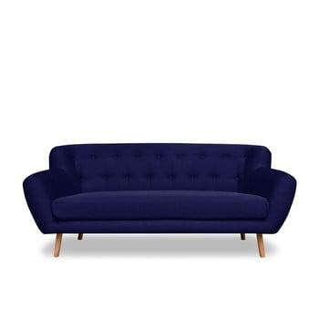Canapea cu 3 locuri Cosmopolitan design London, albastru închis