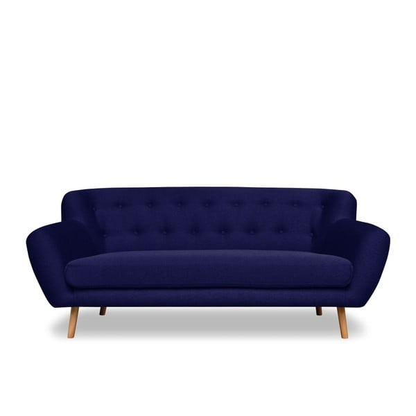 Granatowa sofa 3-osobowa Cosmopolitan design London