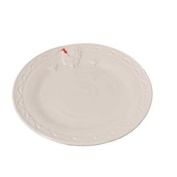 Farfurie Antic Line Hen, 21 cm, alb de la Antic Line
