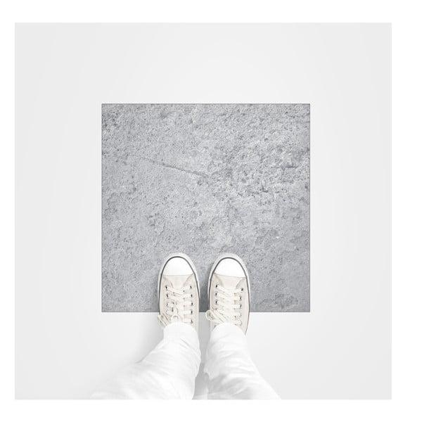 Samolepka na zem Ambiance Stone Slab, 50 x 50 cm
