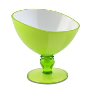 Zelený pohár na dezert Vialli Design Livio, 180ml