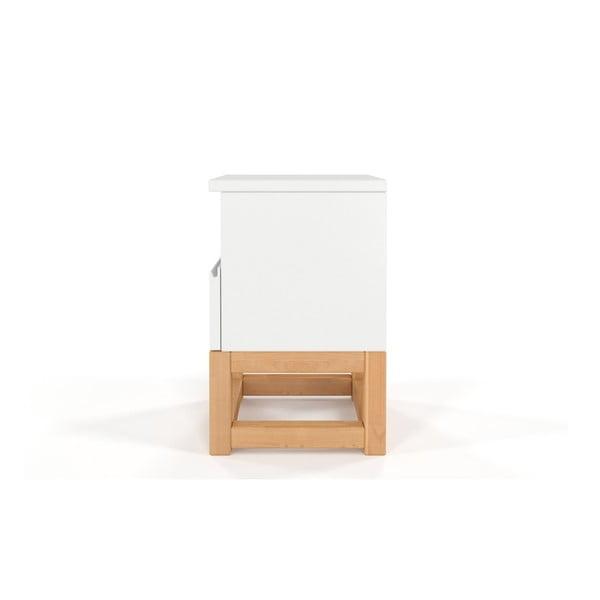 Noční stolek z masivního borovicového dřeva SKANDICA Karin