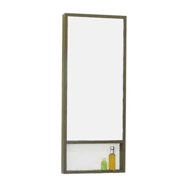 Nástěnné zrcadlo Kura Oak, 40x100 cm