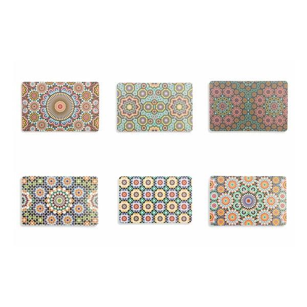 Marrakech tányéralátét szett, 6 darab - Villa d'Este