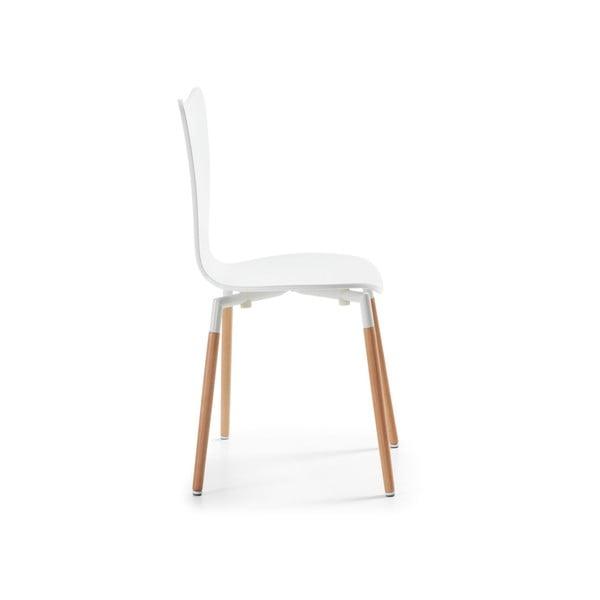 Židle Eclectic, bílá