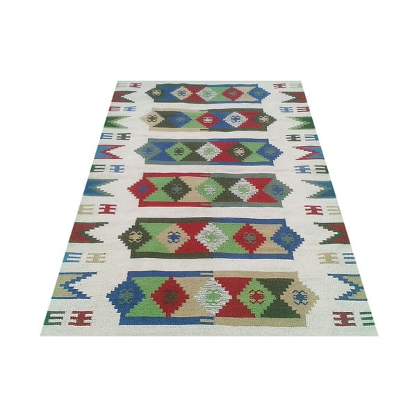 Vlněný koberec Kilim no. 192, 120x180 cm