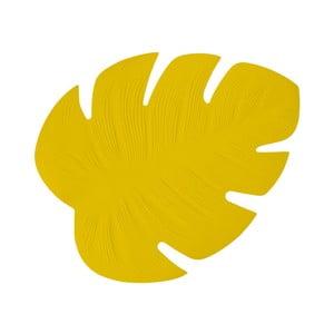 Žluté prostírání Fisura Monsterra Amarillo