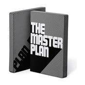 Zápisník The Master Plan, 16,5x22 cm