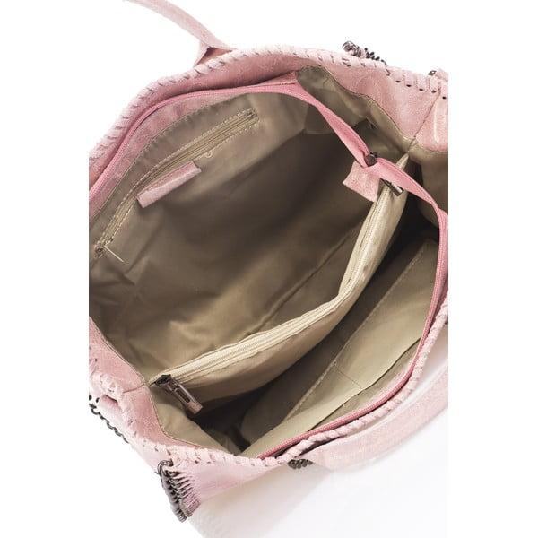 Kožená kabelka Markese 1169 Rose