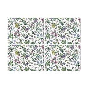 Sada 4 ks prostírání Portmeirion Flower Power, šířka 30,5 cm