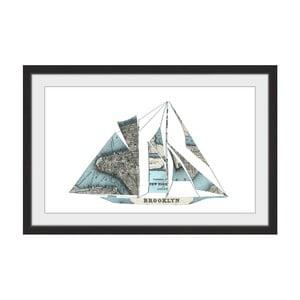 Obraz na plátně Marmont Hill Boaty Brooklyn, 45 x 30 cm