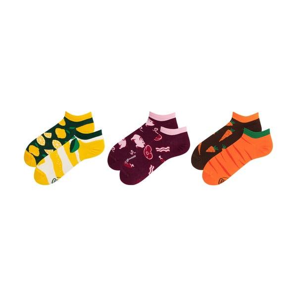 Sada 3 párov členkových ponožiek v darčekovom balení Many Mornings Watermelon, veľ. 35-38