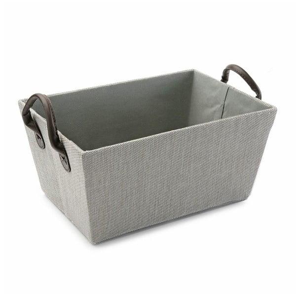 Košík s úchyty Grey Handle, 30x25 cm