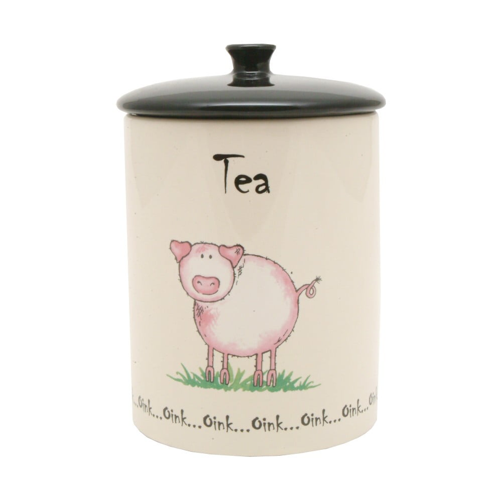 Porcelánová dóza na čaj Price&Kensington Home Farm, ⌀ 10,5 cm