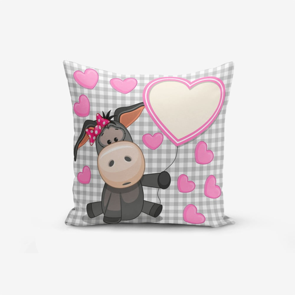 Povlak na polštář s příměsí bavlny Minimalist Cushion Covers Heart Radenna, 45 x 45 cm