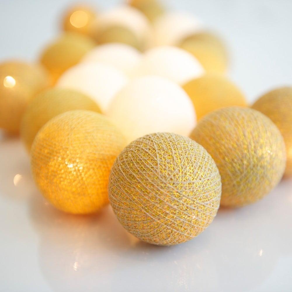 Světelný řetěz Irislights Honey, 20 světýlek