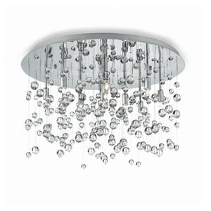 Lustră Evergreen Lights Drops Chrome, ⌀ 40 cm