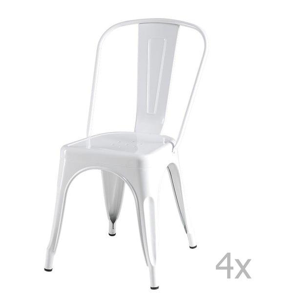Korona fehér szék, 4 db - Furnhouse