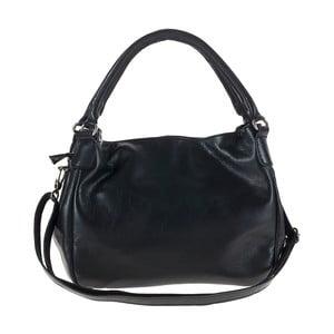 Černá kožená kabelka Tina Panicucci Remy