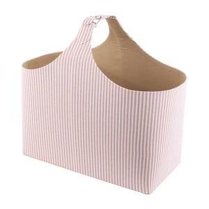 Stojan na časopisy Pink Stripes