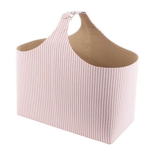 Úložný košík na časopisy Pink France